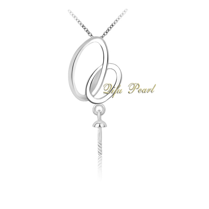 925 Silver Pearl Pendant Mounting