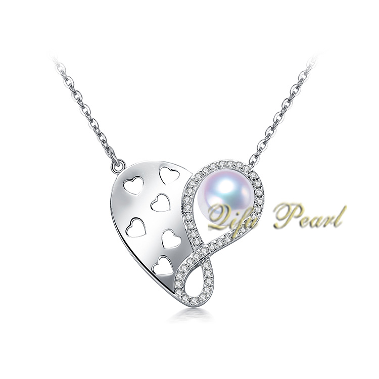 925 Sivler Freshwater Pearl Necklace