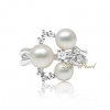 925 silver freshwater pearl ring Wholesale