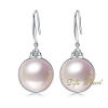 18K White Gold Mabe Pearl Earring