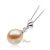 Wholesale 925 Silver Freshwater Pearl Pendant