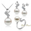 Silver Fresh Water Pearl Set