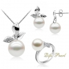 925 silver freshwater pearl Set