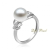 925 silver fresh water pearl Ring