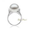 Wholesale 925 silver fresh water pearl Ring