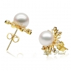 Wholesale 18K Akoya pearl set